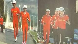 Exposição lembra passagem dos atletas das Olimpíadas em Juiz de Fora
