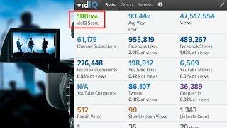 Cách tăng điểm SEO Score của VidIQ dễ dàng