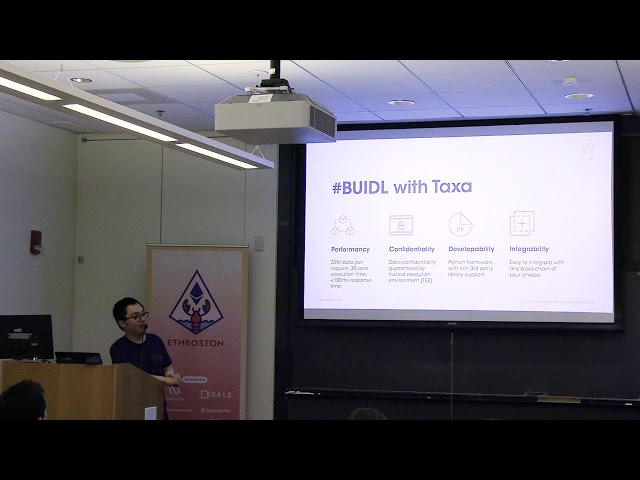 Build Web3 Applications in a Layered Blockchain Architecture by TF Guo of Taxa Network