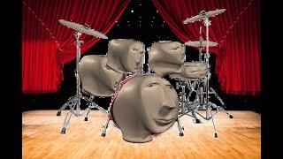 The Human Drum Set