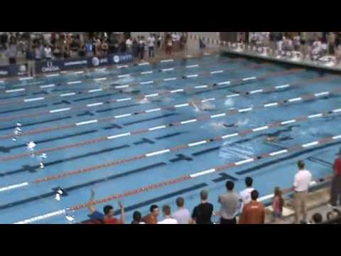 Austin Grand Prix 2009 - Kirsty Coventry lowers pool record in 200m backstroke
