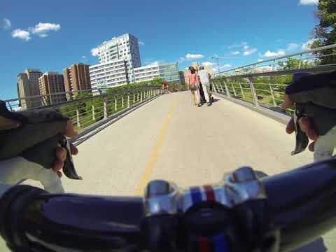 Biking around Ottawa