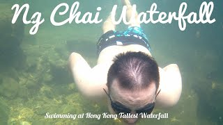 Swimming at Hong Kong Tallest Waterfall.