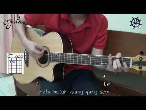 5 MENIT Belajar Gitar Lagu Galau   Al Ghazali + TAB