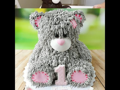 3D торт  Мишка/ 3D cake Teddy bear