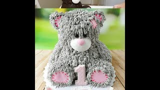 Скачать 3D торт Мишка 3D Cake Teddy Bear