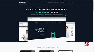 Litmus - Creative MultiPurpose WordPress Theme      Pip Ahtahkakoop
