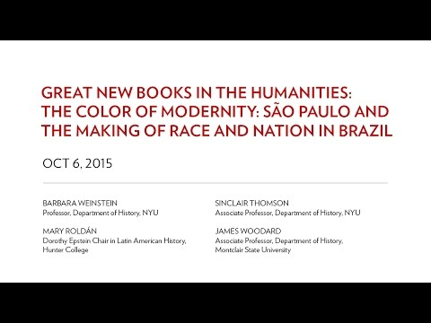 Great New Books in the Humanities: The Color of Modernity