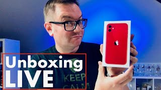 Unboxing iPhone 11 LIVE