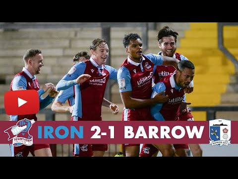 Scunthorpe Barrow Goals And Highlights