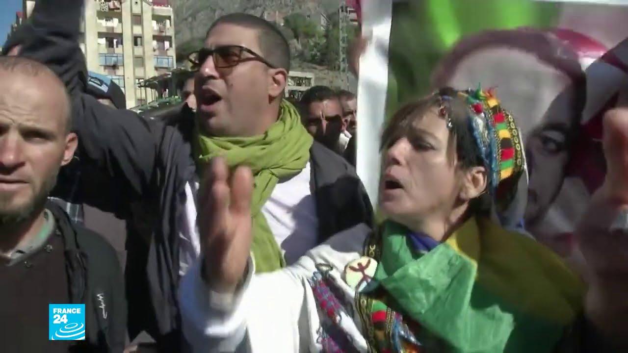 الحراك الشعبي في الجزائر: المتظاهرون في خراطة يرفعون مجددا شعار - يتنحاو قاع-  - 14:02-2021 / 2 / 17