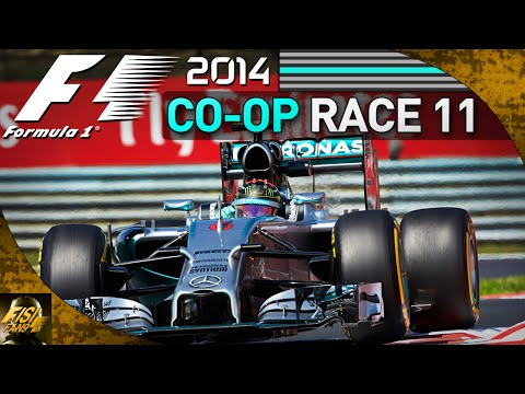 F1 2014 | Co-op Championship - Race 11 Hungary (Live Commentary)