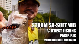 How to catch fish at D'Best Fishing Pond (Pasir Ris Pond) with Storm SX-SOFT VIB screenshot 5