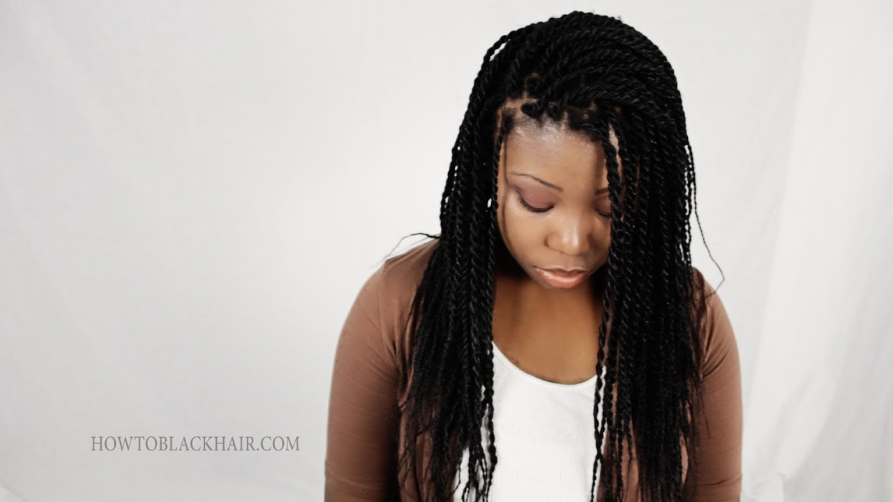 Rope Twist Senegalese Twists 100 Kanekalon Synthetic Hair Tutorial Supplies Part 1