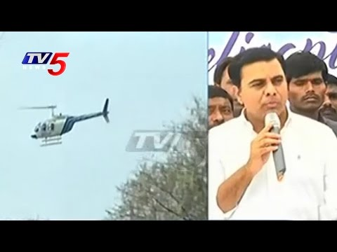 Hyderabad Helicopter Ride @3499 Rs. | Minister KTR Launches Heli Tourism | TV5 News
