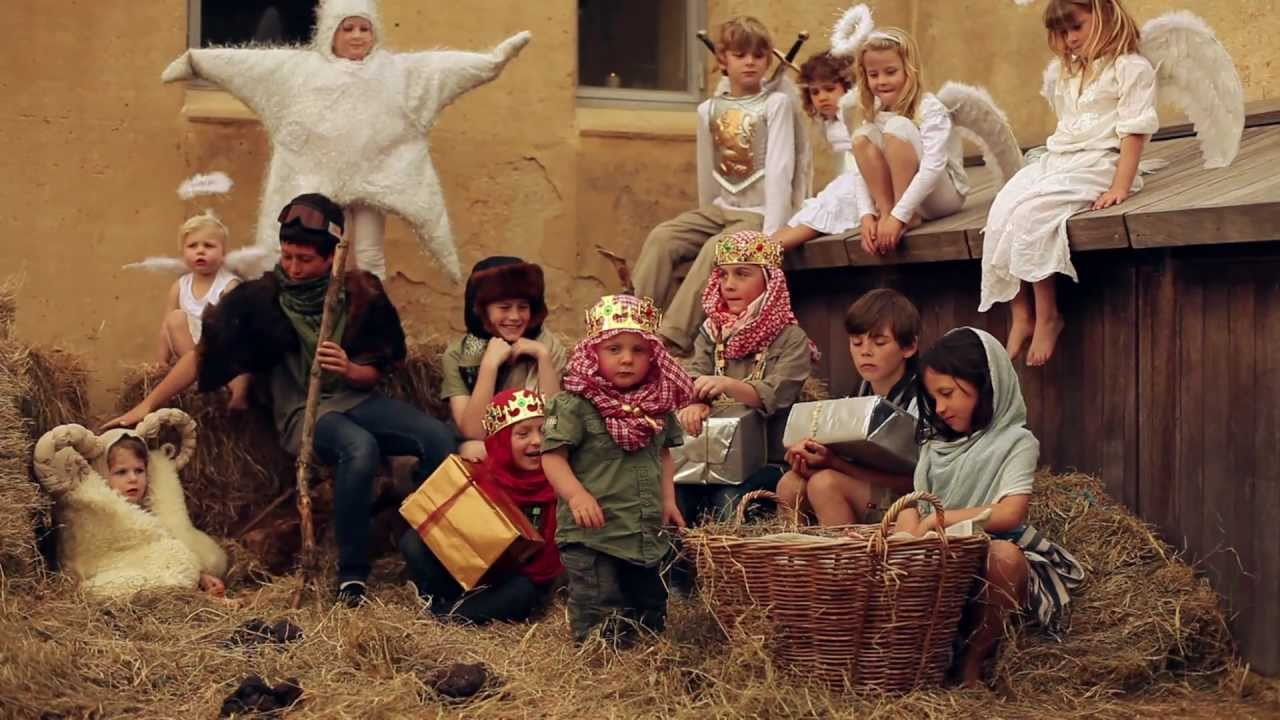 Children S Version Of The Christmas Story