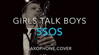 5SOS - Ghostbusters theme - Girls Talk Boys - 5 seconds Of Summer -  Saxophone cover