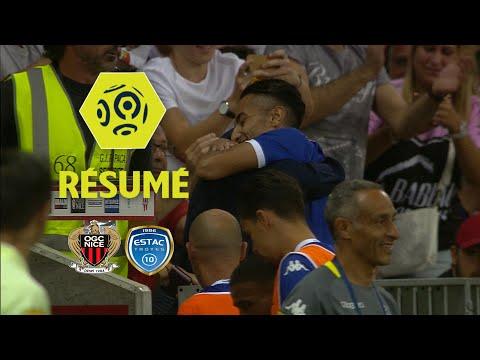 OGC Nice - ESTAC Troyes (1-2)  - Résumé - (OGCN - ESTAC) / 2017-18