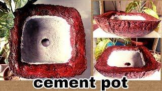 How to make bonsai pot very easy