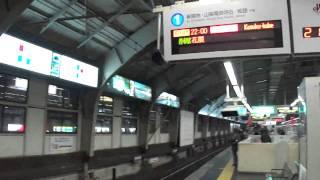 2011.01.11 阪急三宮駅 レアな電車が続きます・・・
