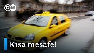 İstanbul'da taksiyle kısa mesafe kâbusu - DW Türkçe