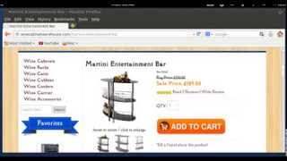 Martini Entertainment Counter