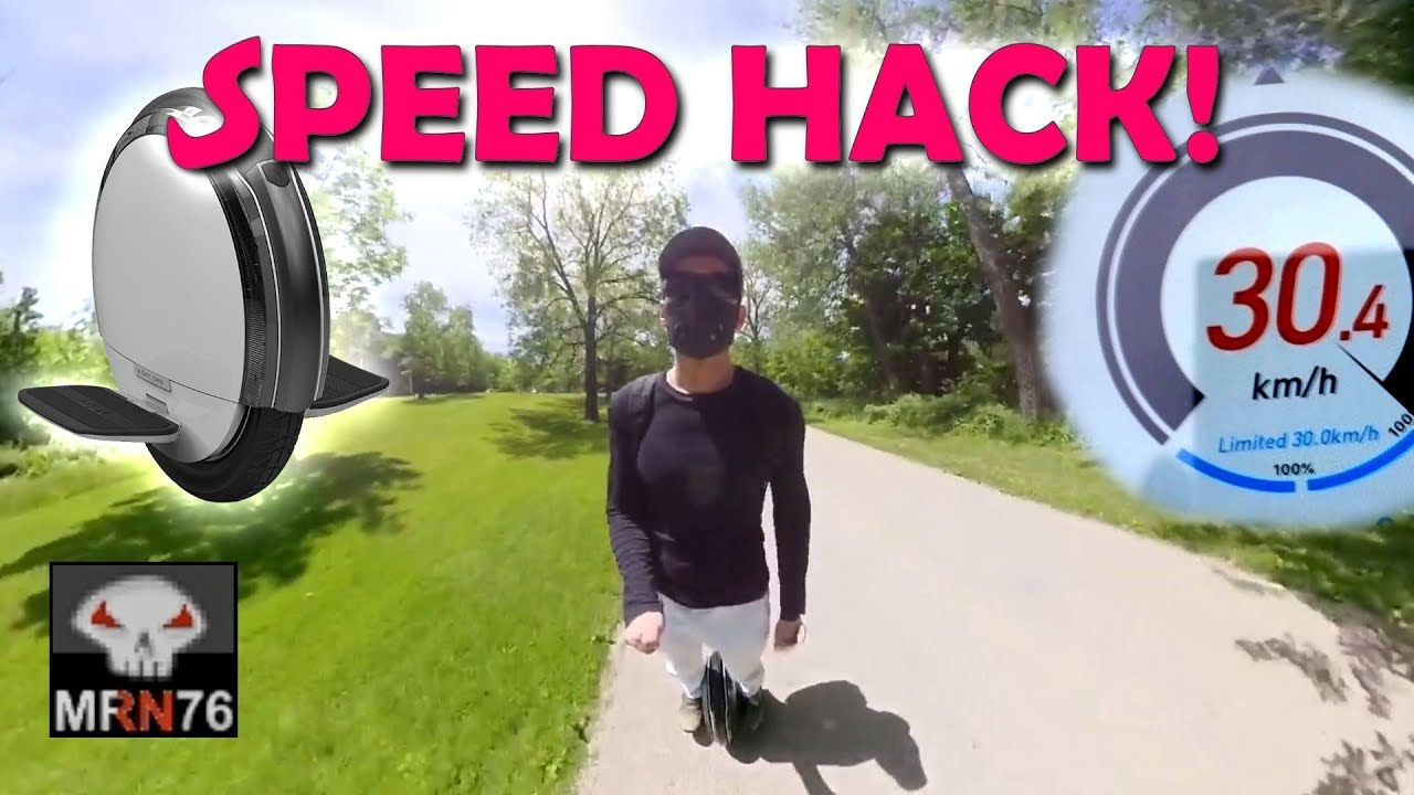 Segway S1/S2 Speed Hack (Ninebot EUC)