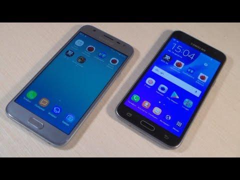 Samsung Galaxy J3 2017 Vs Samsung Galaxy J3 2016