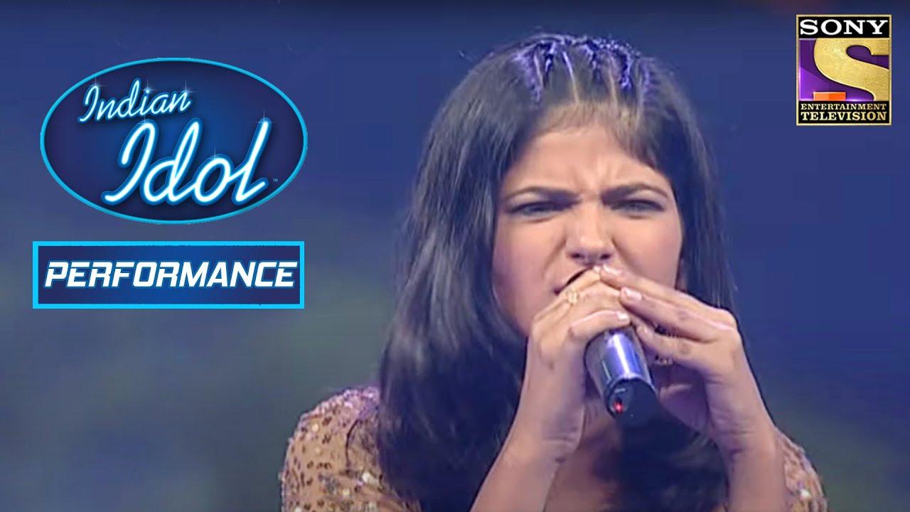 Download Ankita ने दिया 'Deewane To Deewane' पे Magnificent Performance | Indian Idol Season 3