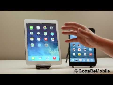 iPad Air vs. iPad mini