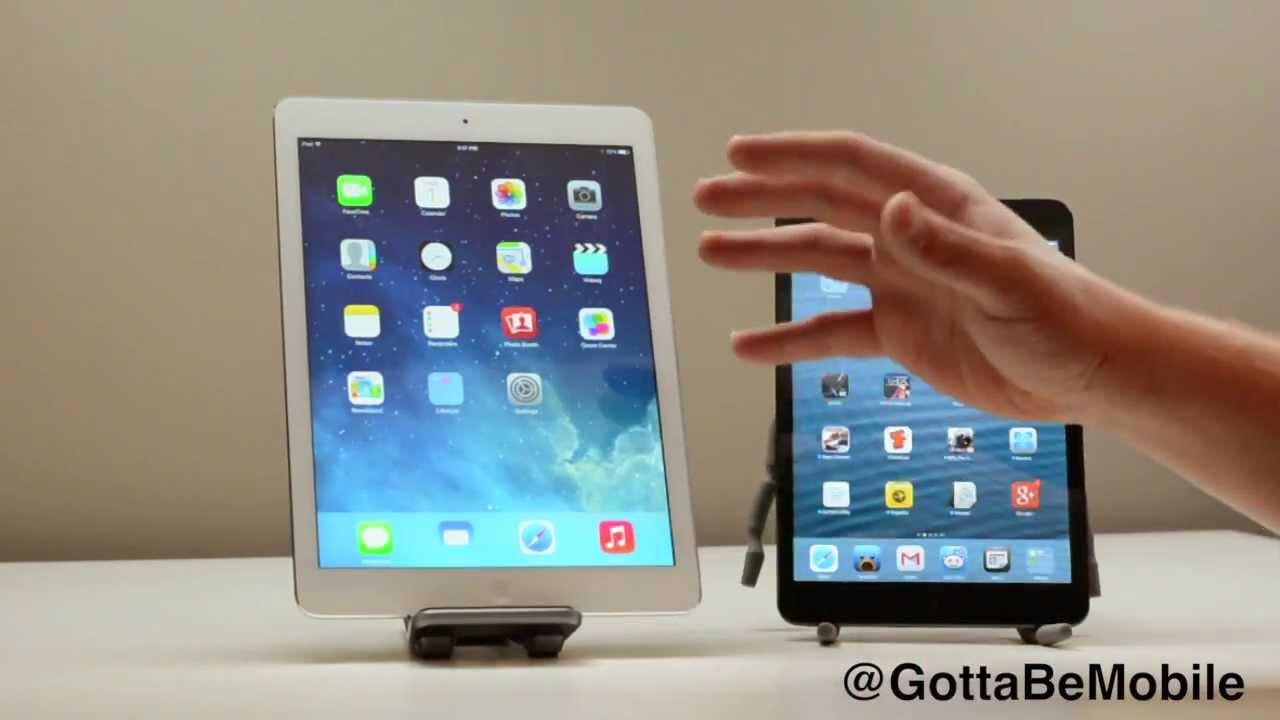 Ipad Mini Vs Ipad iPad Air vs. iPad mini...
