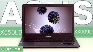 видео Asus x550l характеристики