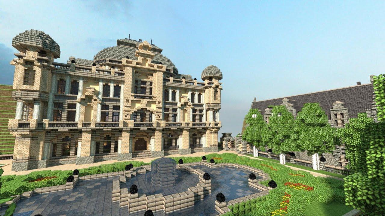 Mansion Minecraft House Ideas