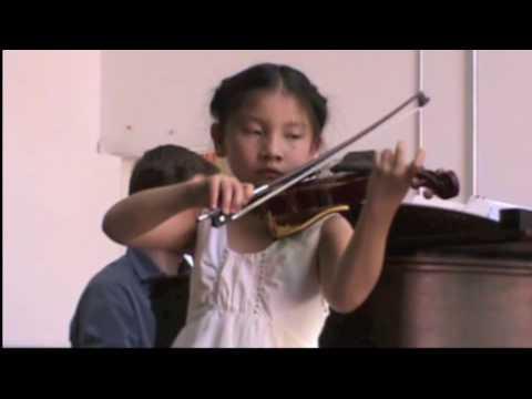Serena Minuet 2 in Kanack School Concert 2010-05-25