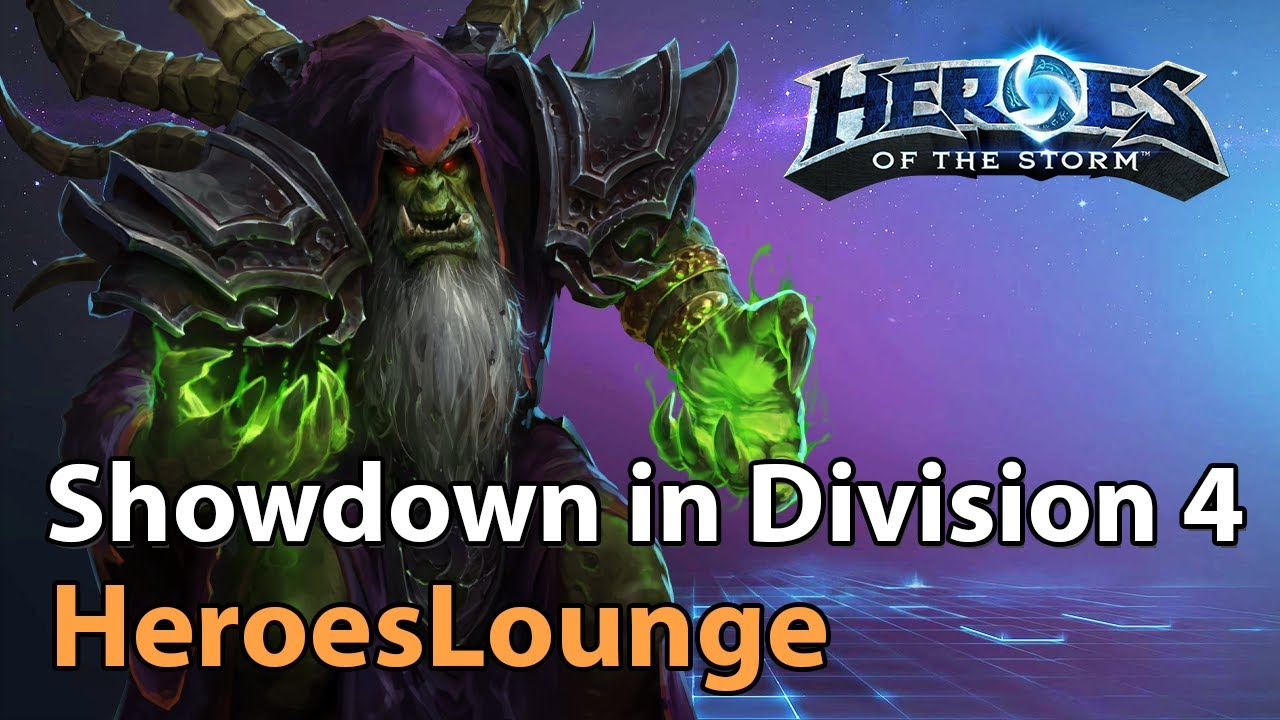 Showdown in Division 4 - Heroes of the Storm Tournament