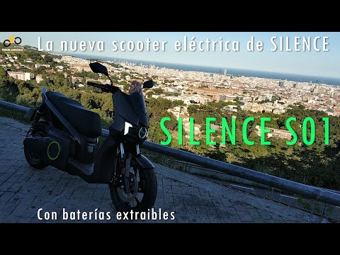Silence S01 - Prueba de la mejor Scooter Eléctrica con batería extraíble eq 125cc