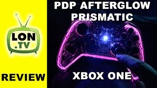 PDP Afterglow Prismatic Xbox One Wired Controller Review(Buy it on Amazon - http://lon.tv/jfld2 (affiliate link) - The PDP Prismatic controller feels very close to the Microsoft original and has a cool transparent plastic ..., 2015-11-18T04:30:46.000Z)