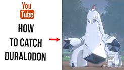 How to catch a Duralodon in Pokémon sword and shield
