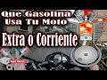 Que gasolina usar en tu moto extra o corriente según la relación de compresión | ToroMotos