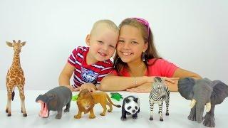 смотреть видео про зоопарк для детей