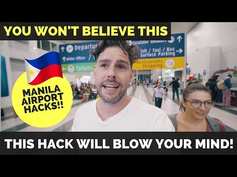 How to survive MANILA AIRPORT - NAIA Airport Terminal 3