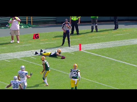 Packers Ty Montgomery makes a Slick Special Teams play