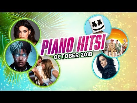 Piano Hits ♫ Pop Songs October 2018 : 1 hr of hits  for classroom study pop instrumental