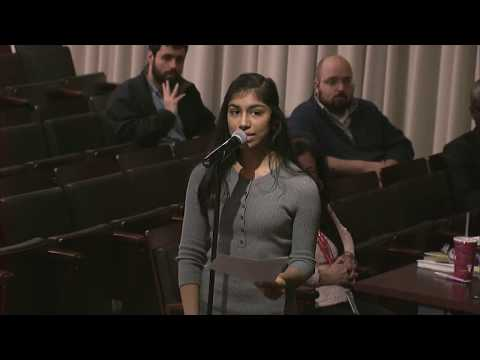 Opening remarks at Feb. 4, 2020 Council meeting - Shairee Arora, Richard Montgomery High School
