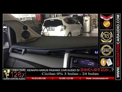 Paket audio mobil Innova Reborn   1 hari pengerjaan   Innovation car audio Jakarta