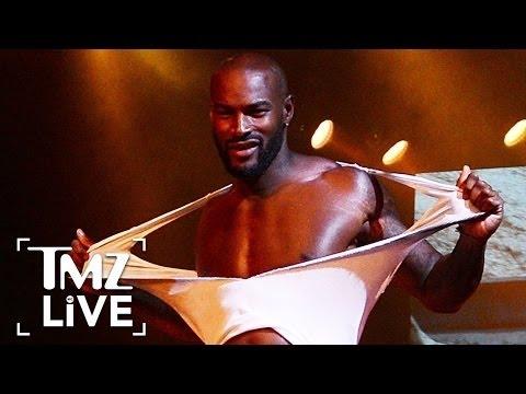 Tyson Beckford Strips Down I TMZ Live