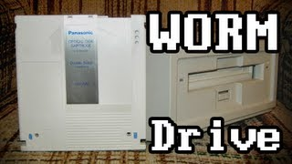 LGR Oddware - Magneto-optical WORM Disc Drive