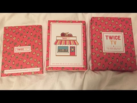 Thumbnail: [트와이스] TWICE TV4 DVD Set Unboxing
