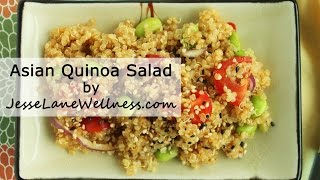 Asian Quinoa Salad  (gluten Free, Vegan)