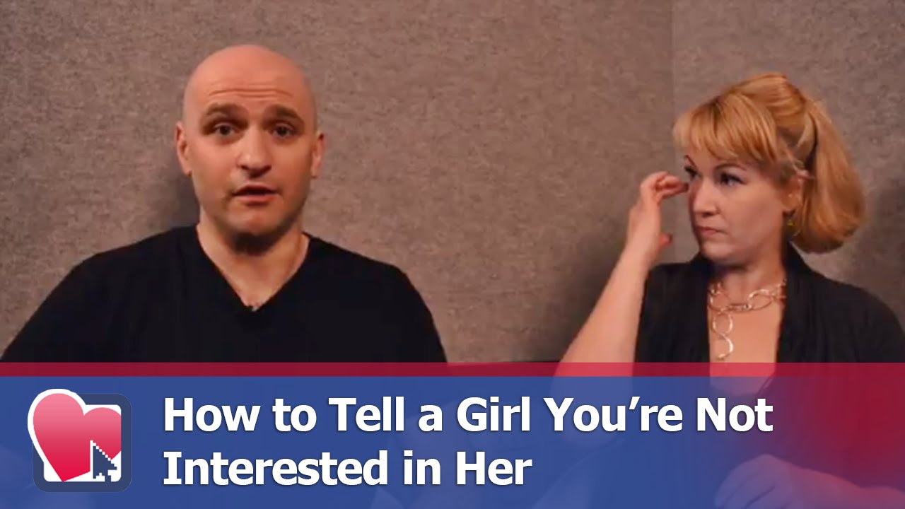 how to tell someone you re not interested anymore